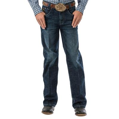Cinch Boy's Dark Stone Slim Carter Jeans
