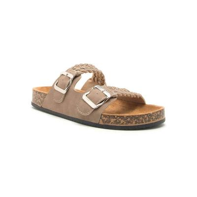 Women's Braided Buckled Sandal