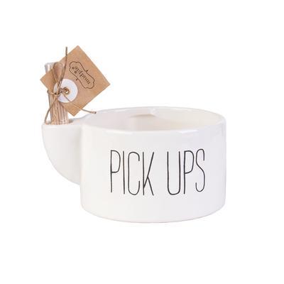 Mud Pie's Pick Ups Toothpick Bowl Set