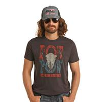 Rock & Roll Denim Men's Dale Brisby Pow Tee