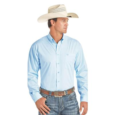 Panhandle Men's Classic Solid Long Sleeve Shirt