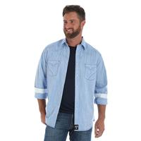 Wrangler Men's Rock 47 Light Blue Shirt