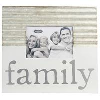 Mud Pie's Tin Family Photo Frame