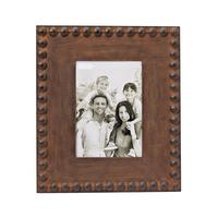 Mud Pie's Large Nailhead Tin Picture Frame