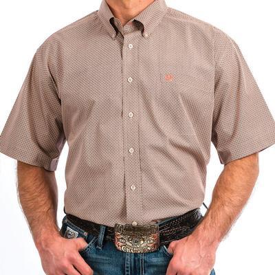 Cinch Men's Stone Printed Button Shirt
