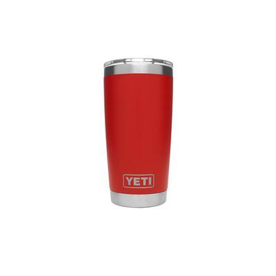 YETI Canyon Red Rambler 20oz Magslider Tumbler