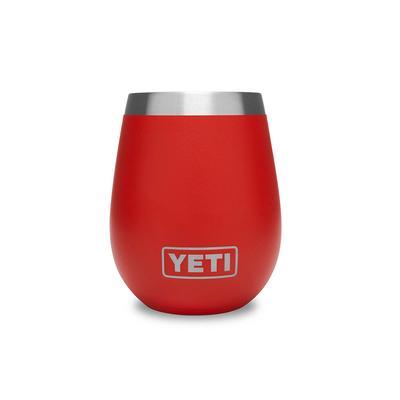 YETI Canyon Red Rambler 10oz Wine Tumbler