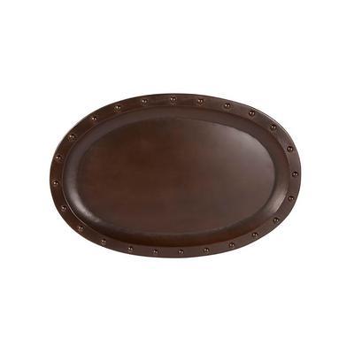 Mud Pie's Cast Iron Oval Stud Tray