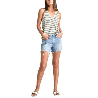 Silver Jeans Women's Frisco High Rise Short