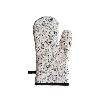 Chicken Pattern Cotton Hot Mitt