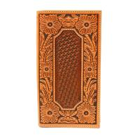 Ariat's Tooled Rodeo Wallet