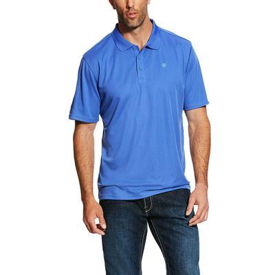 Ariat Men's Tek Amparo Blue Polo