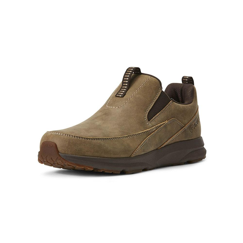 new release genuine shoes competitive price Ariat Men's Brown Bomber Spitfire Slip-On Shoe