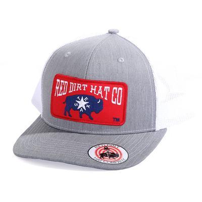 Red Dirt Hat Co.'s Heather Grey Republic of Texas Cap