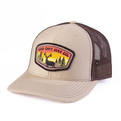 Red Dirt Hat Co.'s Tan Deer Sunset Cap