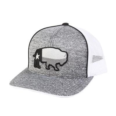 Red Dirt Hat Co.'s Grey Buffalo Texas Cap