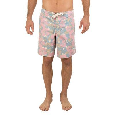 Uzzi Men's Dry Fast Hawaiian Print Board Shorts