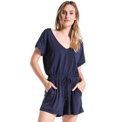 Z Supply Women's The Blaire Sleek Jersey Romper