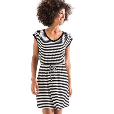 Z Supply Women's The Stripped Shirred Dress