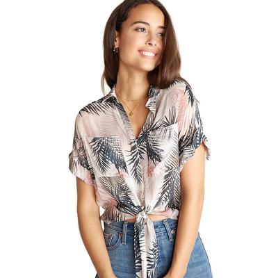 Bella Dahl Women's Sunset Palm Button Up Shirt