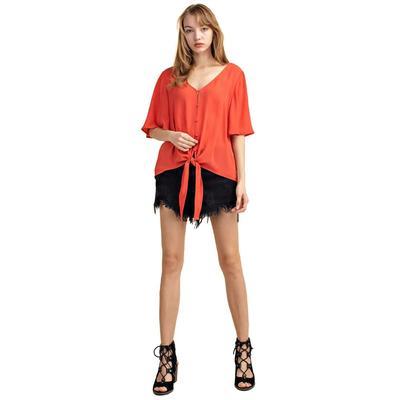 Mitto Shop Women's Tie Top