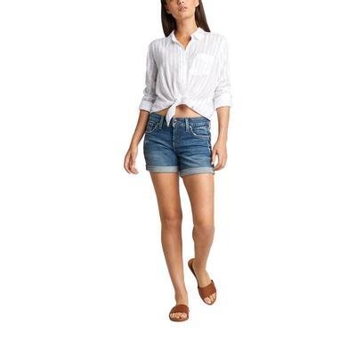 Silver Jeans Women's Boyfriend Shorts