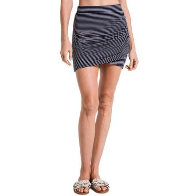 Z Supply Women's Micro Stripe Wrap Skirt