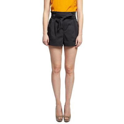 Black Tape Women's Waist Tie Paperbag Shorts