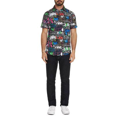 Robert Graham Designs Men's Short Sleeve Terzis Shirt