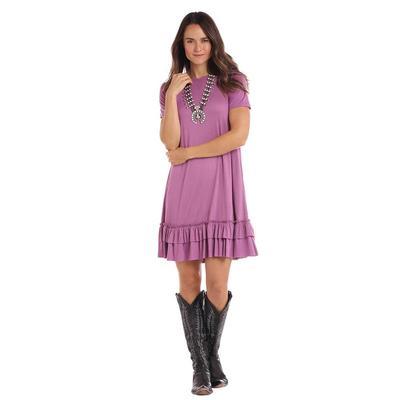 Panhandle Women's Ruffle Hem Swing Dress