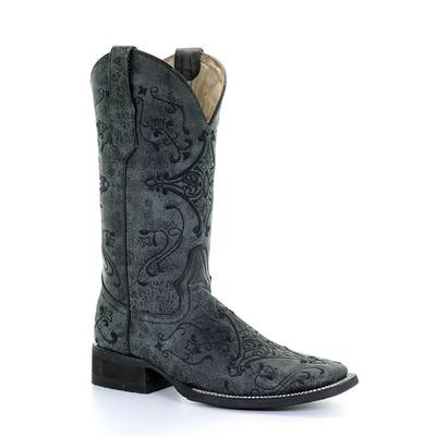 Corral Women's Black Embroidered Boot