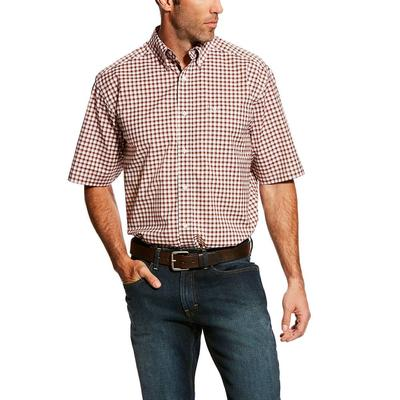 Ariat Men's Handerson Short Sleeve Stretch Performance Shirt