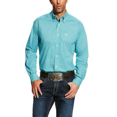 Ariat Men's Bondi Pool Harlowe Print Stretch Shirt