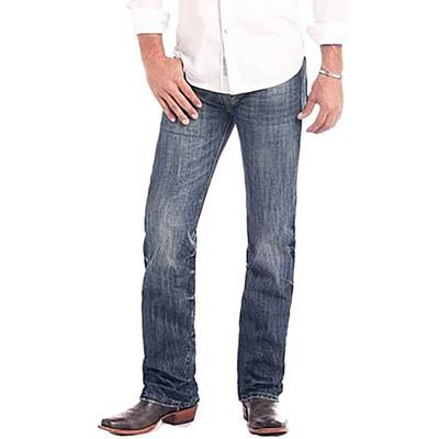 Rock & Roll Denim Men's Light Vintage Pistol Straight Jeans