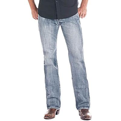Rock & Roll Denim Men's Double Barrel Straight Jeans