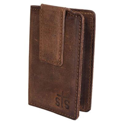 STS Ranchwear's Foreman Leather Money Clip