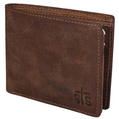 STS Ranchwear's Foreman Leather Bi-Fold Wallet