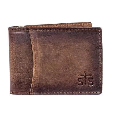 STS Ranchwear's Foreman Leather Hidden Money Clip