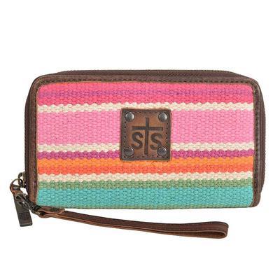STS Ranchwear's Cactus Serape Wallet Wristlet