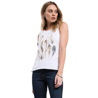 White Crow Women's Native Feather T-Shirt