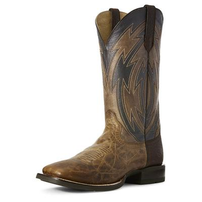 Ariat Men's Dusted Wheat Crossdraw Boot BRN