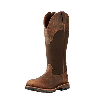 Ariat Men's Western Workhog Snake Boots