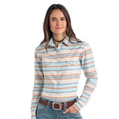 Panhandle Women's Whipstitch Snap Top