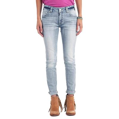Rock & Roll Denim Women's Boyfriend Skinny Jeans