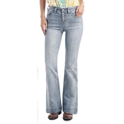 Rock & Roll Women's High Rise Trouser Jeans