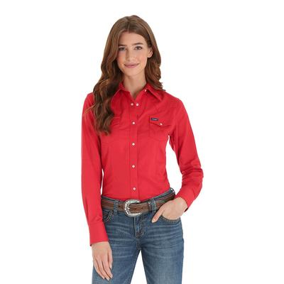 Wrangler Women's Western Patriot Button Down Shirt