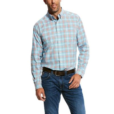 Ariat Men's Stretch Pro Fitted Button Down Shirt