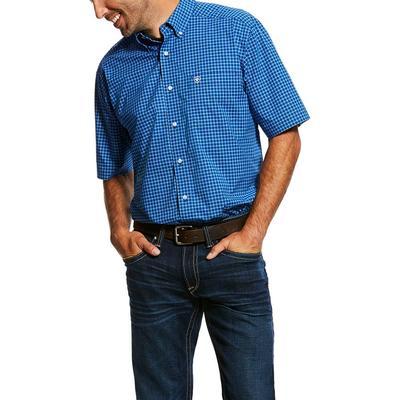 Ariat Men's Short Sleeve Stretch Pro Button Down Shirt