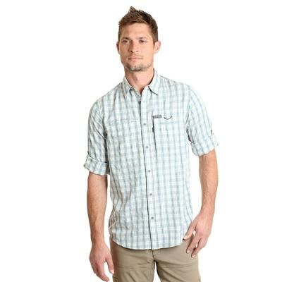 Wrangler Men's Long Sleeve Hike To Fish Button Down Shirt