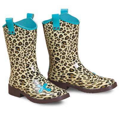 M & F Western Girl's Piper Leopard